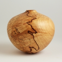 Small Detailed Maple Hollow Form