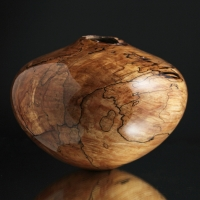 Spalted Maple Crotch Hollow