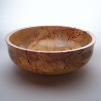 Brinkley's Spalted Holly Bowl