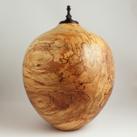 Oakwood Spalted Linden Cremation Urn