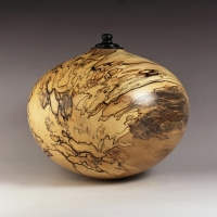 Spalted Holly Companion Urn