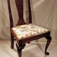 Queen Anne Side Chair <br>Mahogany