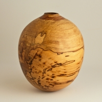 Natural Spalted Elm Hollow - $170.00