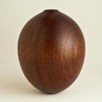 Plain Black Walnut Small Hollow - $100.00