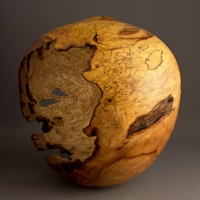 Hollow Heart Spalted Dogwood Hollow - $600.00