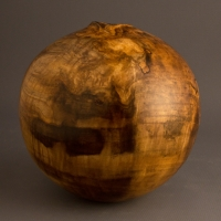 Small Figured Poplar Hollow - $130.00