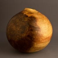 Dark Spot Poplar Burl Hollow - $180.00