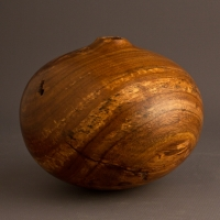 Small Natural Red Bud Hollow Form - $110.00