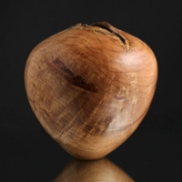Red Oak Natural Hollow Form - $260.00