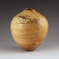 Natural Ash Hollow Form - $240.00