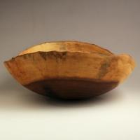 Black Heart Poplar Lapbowl - SOLD