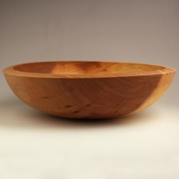 Finished Two Tone Elm Lapbowl - SOLD