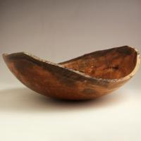 Gunmetal Maple Natural Lapbowl - SOLD