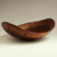 Medium Natural Walnut Lapbowl - $60.00
