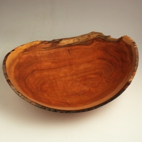 Natural Cherry Lapbowl - SOLD