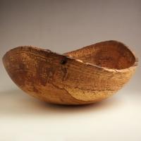 Spalted Pecan Natural Lapbowl - $110.00