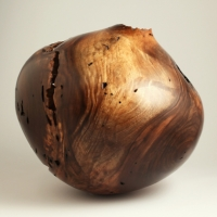 Wormy Walnut Off Balance Hollow - $720.00