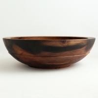 Dark Poplar Utility Bowl - $100.00
