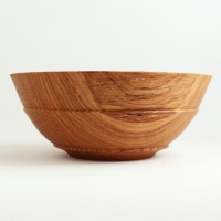 Small Quartersawn White Oak Utility Bowl - $65.00