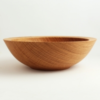 Quatersawn White Oak Utility Bowl - $80.00
