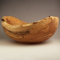 Spalted Natural Ash Utility - $110.00
