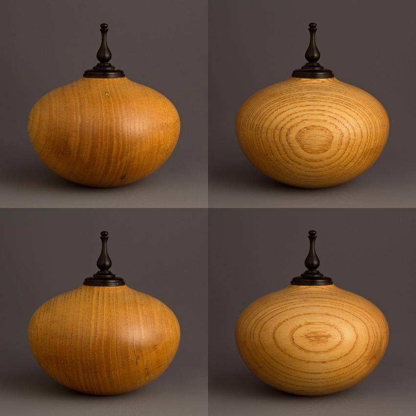 Simple Ash Keepsake Urn, 20 ci - $220.00
