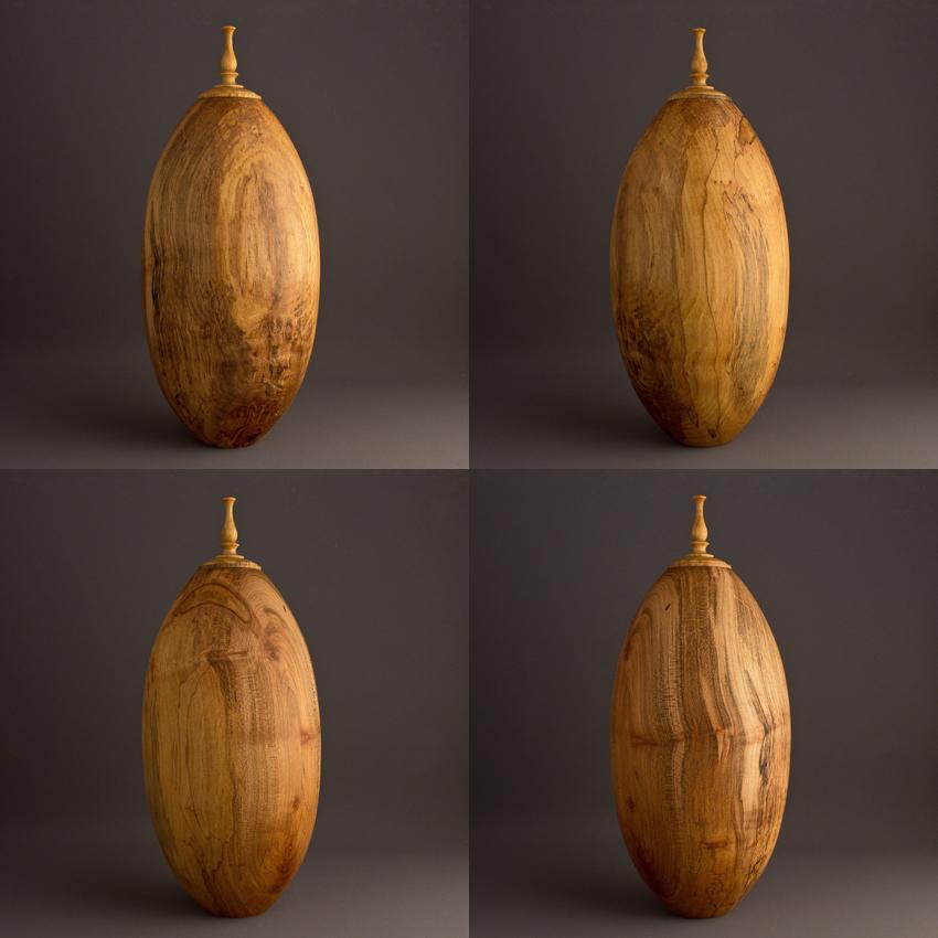 Simple Maple Keepsake Urn, 65 ci - $280.00