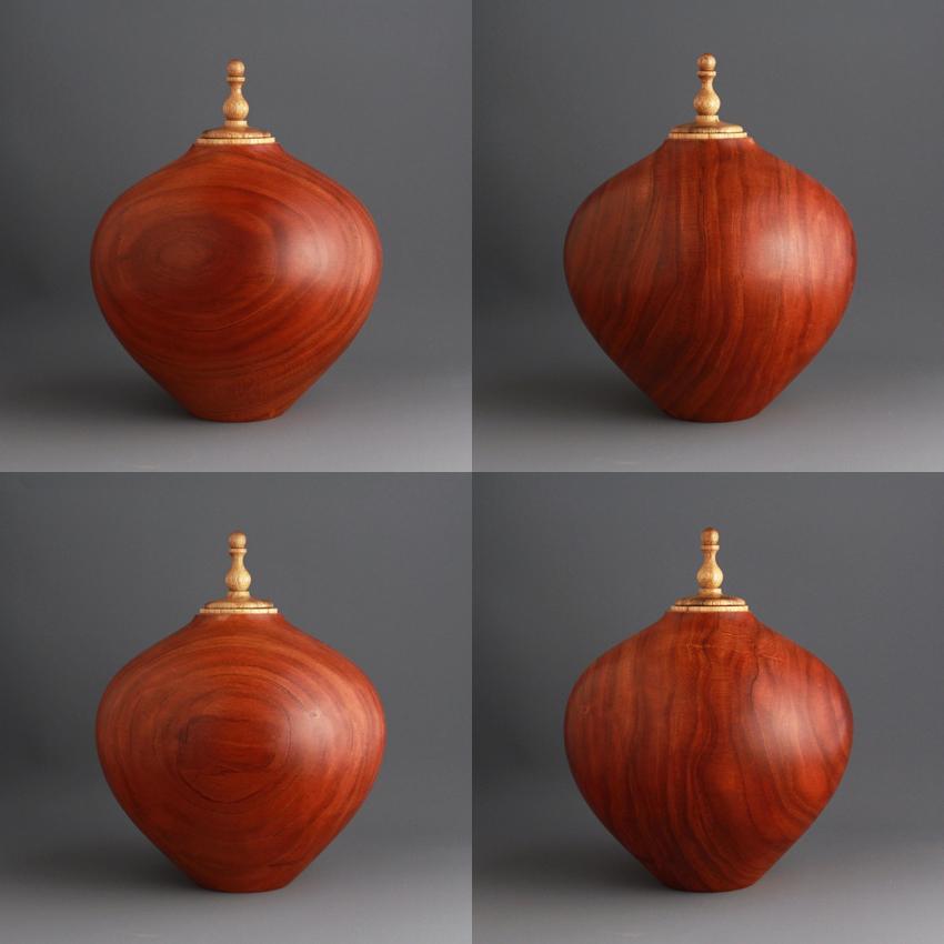 Black Cherry Keepsake Urn, 50 ci - $240.00