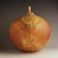 Honey Locust Cremation Urn, 260 ci - $1100.00