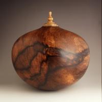 Spalted Persimmon Companion Urn, 375 ci - $2560.00