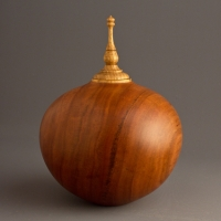 Small Cherry Cremation Urn, 35 ci - $230.00