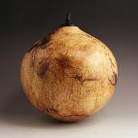 Detailed Maple Burl Companion Urn, 390 ci - $3040.00