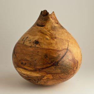 Sculpture for Sale - Ben Owen Collection, Spalted Teardrop Pecan Hollow