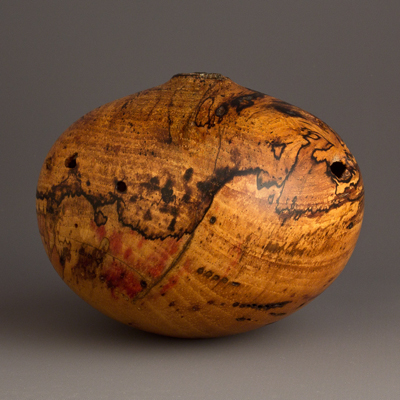 Sculpture for Sale - Owen Small Spalted Pecan Hollow Form