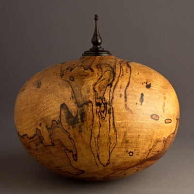Spalted Pecan Cremation Urn