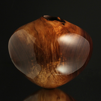 Black Walnut Figured Hollow Form