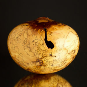 Ultra Gloss Fine Line Spalted Dogwood Hollow Form