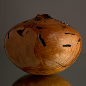 Ultra Gloss Wormy Persimmon Hollow Form