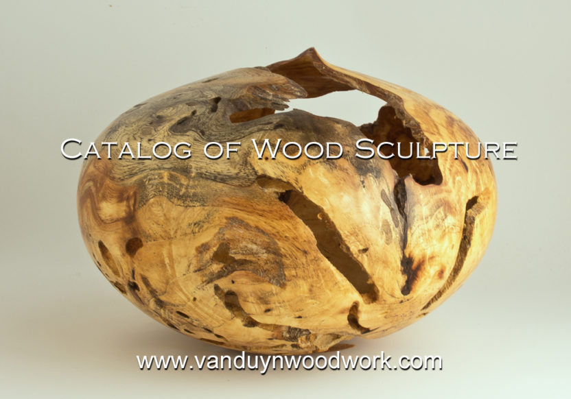 catalog of wood sculpture - Jason Van Duyn