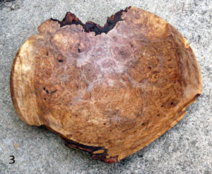 Red Maple Burl Bowl