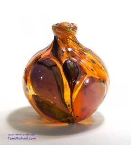 Glass Cremation Urn Art