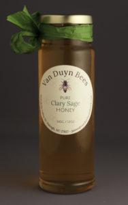 local honey - Clary Sage Honey - Van Duyn Bees