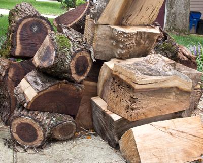 Walnut and Poplar wood turning blanks