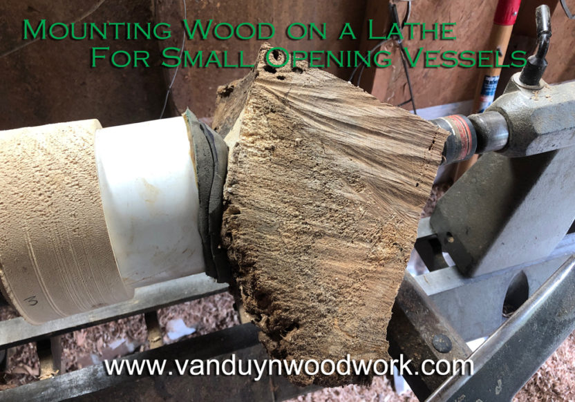 Mounting Wood on a Lathe - All Projects and Vessels with