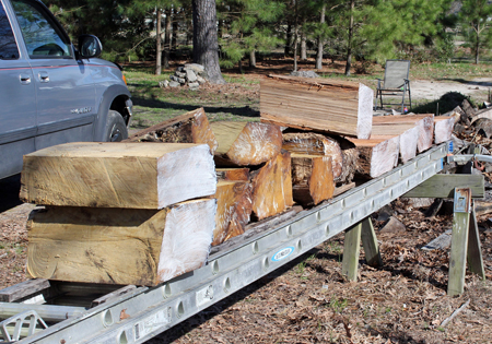 How to Dry Wood without Splitting - Waxing Wood