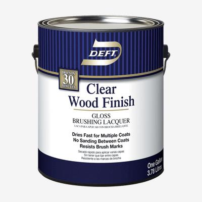 wood finishes lacquer