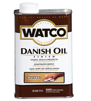 wood finishes oil
